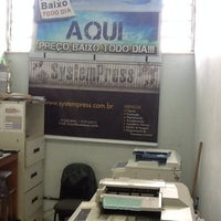 Photo taken at Copiadora System Press by Israel P. on 5/25/2012
