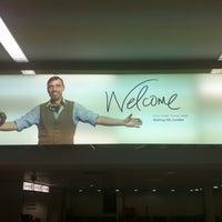Photo taken at Heathrow Airport Terminals 1, 2 & 3 London Underground Station by Miki D. on 5/4/2012