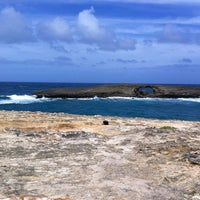 Photo taken at Laie Point by Linda C. on 2/29/2012