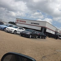 Photo taken at Toyota of Hattiesburg by Melissa S. on 5/25/2012