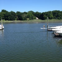 Photo taken at Cos Cob, CT by Jenni G. on 6/16/2012