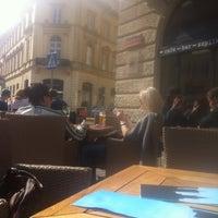 Photo taken at Café Szparka by Krystian Z. on 4/14/2012