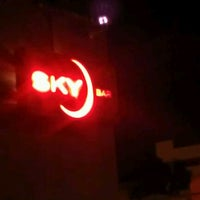 Photo taken at Sky Bar by Judith O. on 6/7/2012