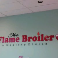 Photo taken at The Flame Broiler by Ashley F. on 7/19/2012