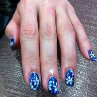 Photo taken at Stylish Nails & Hair Saloon Shop by Serena O. on 3/19/2012