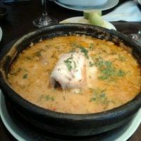 Photo taken at El Ancla Restaurant by Ricardo D. on 6/8/2012