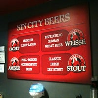 Photo taken at Sin City Brewing Co. by George on 7/14/2012