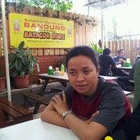 Photo taken at Batagor Riri by zusana f. on 4/22/2012