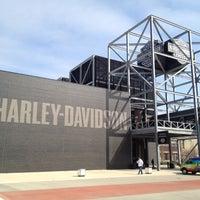 Photo taken at Harley-Davidson Museum by Jonathan C. on 3/25/2012