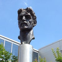 Photo taken at Frank Zappa Statue by Dan R. on 6/15/2012
