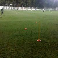 """Photo taken at Campo de Futbol   Antonio Martinez """"El Morao"""" by jose carlos g. on 3/1/2012"""