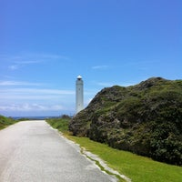 Photo taken at Hennasaki Lighthouse by Hidehito M. on 6/8/2012