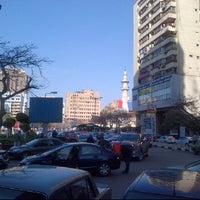 Photo taken at Masjed Mostafa Mahmoud by Amr E. on 3/17/2012
