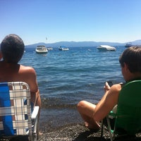 Photo taken at Tahoe Park Homeowners Beach by Chris C. on 7/27/2012