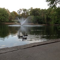 Photo taken at Loose Park by Bazigha on 6/17/2012
