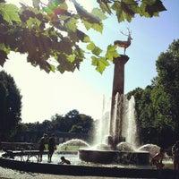 8/19/2012 tarihinde Friederike W.ziyaretçi tarafından Rudolph-Wilde-Park'de çekilen fotoğraf