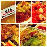 Photo taken at Cham Sut Gol Korean BBQ by Eric L. on 8/18/2012