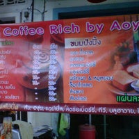 Photo taken at Coffee Rich by AOY by Kang S. on 2/24/2012