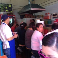 Photo taken at Taqueria Aguayo by Abraham M. on 4/27/2012