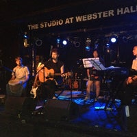 Photo taken at The Studio at Webster Hall by Lena G. on 6/28/2012