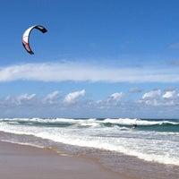 Photo taken at Marcoola Beach by Leonardo Tiberius ⛵ on 2/14/2012