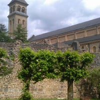 Photo taken at Abbaye Notre-Dame d'Orval by Dries V. on 6/28/2012