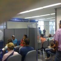 Photo taken at Caixa Econômica Federal by Thiago H. on 7/16/2012