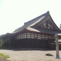 Photo taken at 浄興寺 by Hiroki S. on 8/25/2012
