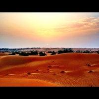 Photo taken at Al Maha Desert Resort & Spa by Josh A. on 7/14/2012