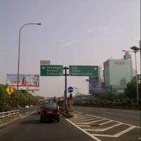 Photo taken at Jembatan Semanggi by Yurike T. on 8/20/2012