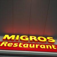 Photo taken at Migros Restaurant by Adam R. on 5/10/2012
