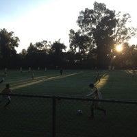 Photo taken at Pumitas C.U., Futbol A.C. by Jose on 9/2/2012