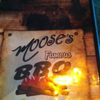 Photo taken at Moose's Famous BBQ by Torre on 6/29/2012