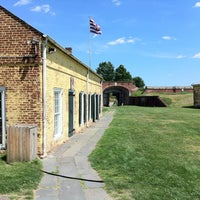 Photo taken at Fort Mifflin by S M. on 6/16/2012