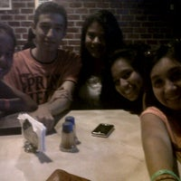 Photo taken at picka pizza by Shirley C. on 4/1/2012