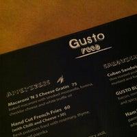 Photo taken at Gusto by Jason Tse on 7/13/2012