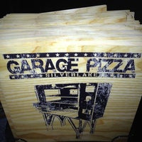 Photo taken at Garage Pizza by Edgar R. on 8/5/2012