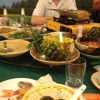 Photo taken at Thai Zhen Restaurant by Алина Я. on 4/15/2012