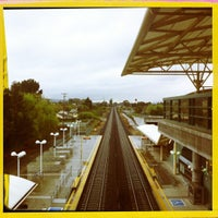 Photo taken at Millbrae Caltrain Station by Paul A. on 4/10/2012