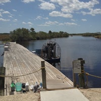 Photo taken at Everglades Private Airboat Tours by Steven B. on 4/9/2012