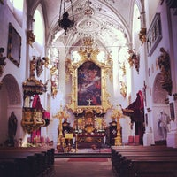 Photo taken at Church of Our Lady Beneath the Chain by Albert C. on 4/30/2012