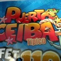 Photo taken at Restaurante Puerto Ceiba by Pako B. on 3/28/2012