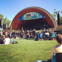 Photo taken at DCR Hatch Memorial Shell by James L. on 5/19/2012