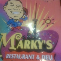 Photo taken at Marky's Deli by Amos on 7/17/2012