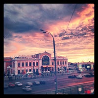 Photo taken at Savyolovsky Rail Terminal by julitta✨ on 8/25/2012