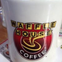 Photo taken at Waffle House by LJ M. on 4/10/2012