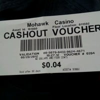 Photo taken at Akwesasne Mohawk Casino by Derek K. on 8/29/2012