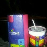 Photo taken at Cinemais by Heryane S. on 8/4/2012