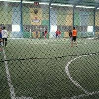 Photo taken at Lapangan Futsal BSC (Ringroad) by Tieka K. on 4/7/2012