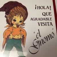 Foto tomada en El Gnomo por Eduardo P. el 3/31/2012